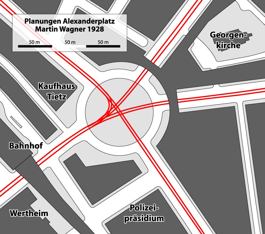 Die Historische Entwicklung Des Alexanderplatzes